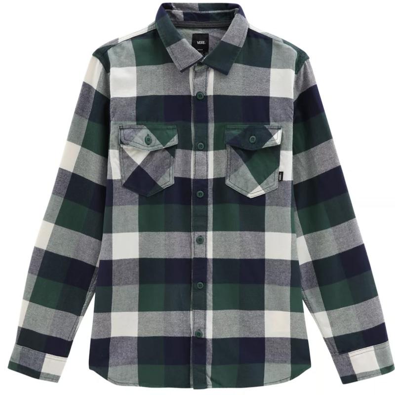 Vans Box Flannel Shirt Dress Blues/Scarab