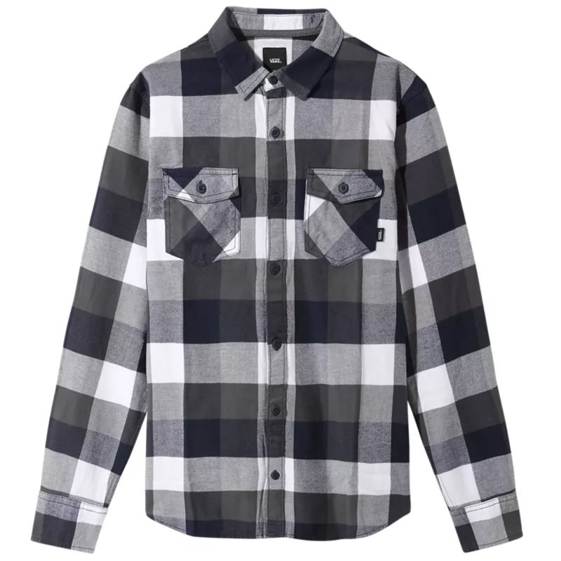 Vans Box Flannel Shirt White/Dress Blues