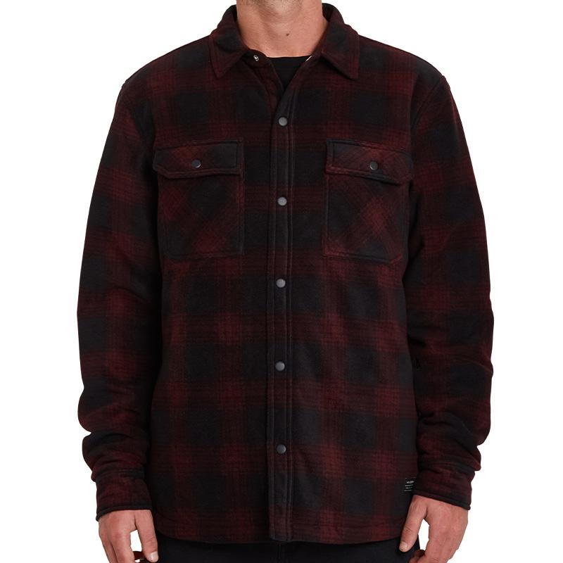Volcom Bowered Fleece Shirt Port