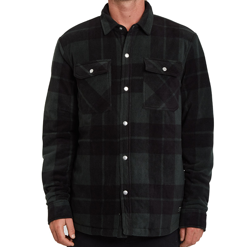 Volcom Bowered Fleece Shirt Scarab