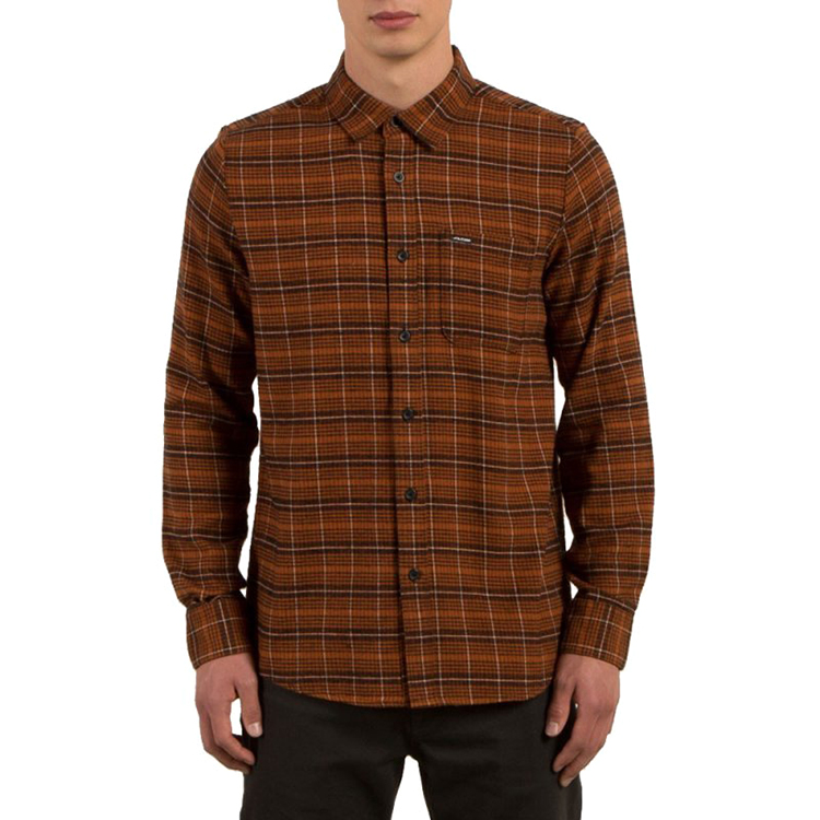Volcom Brodus Shirt Copper