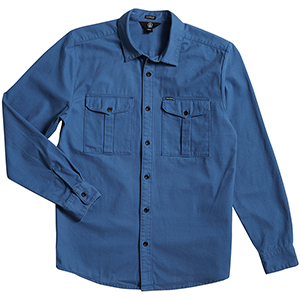 Volcom Huckster Shirt Used Blue