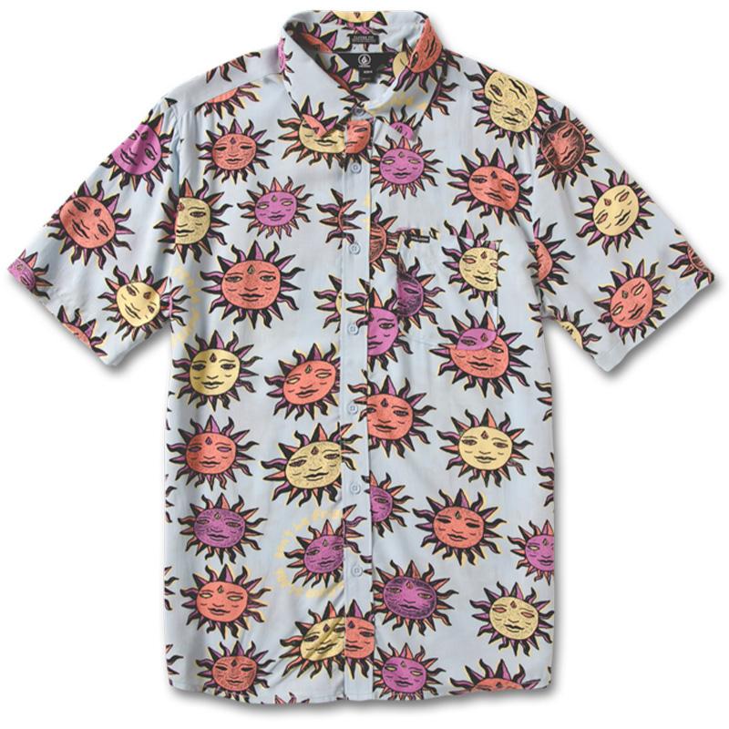 Volcom Ozzy Sun Shirt Aether Blue