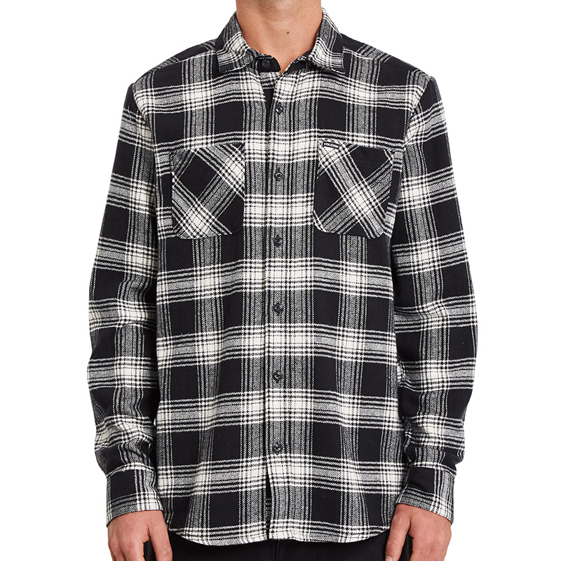 Volcom Tone Stone Shirt New Black