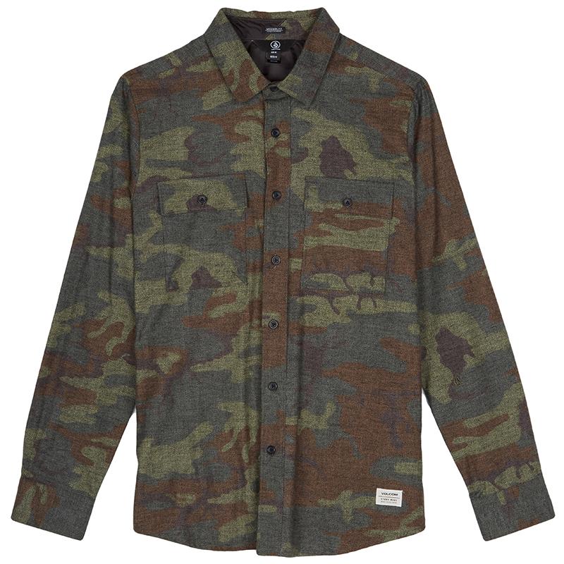 Volcom Woodland Shirt Camouflage