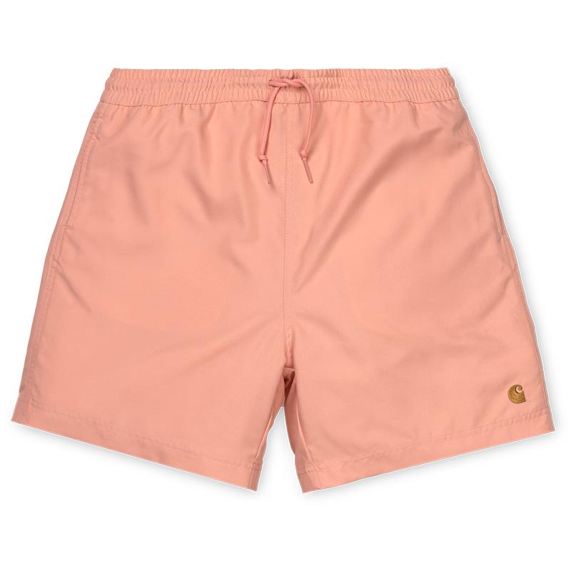 Carhartt Chase Swim Trunk Peach/Gold