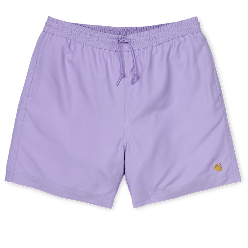 Carhartt Chase Swim Trunk Soft Lavender/Gold