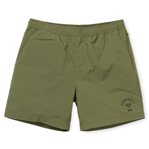 Carhartt Dive Swim Trunk Shorts Rover Green/Black
