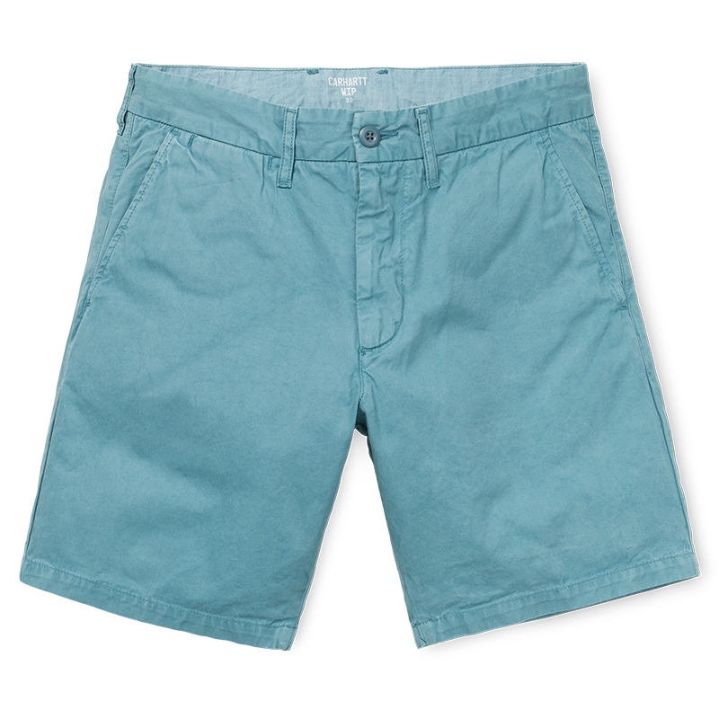 Carhartt John Shorts Dusty Blue