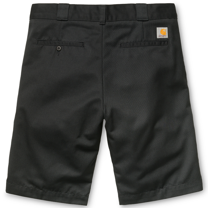 Carhartt Master Shorts Black Rinsed