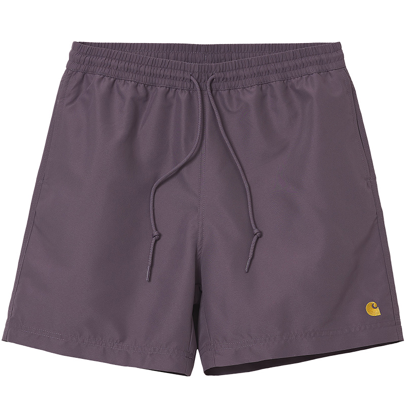 Carhartt WIP Chase Swim Trunk Provence/Gold