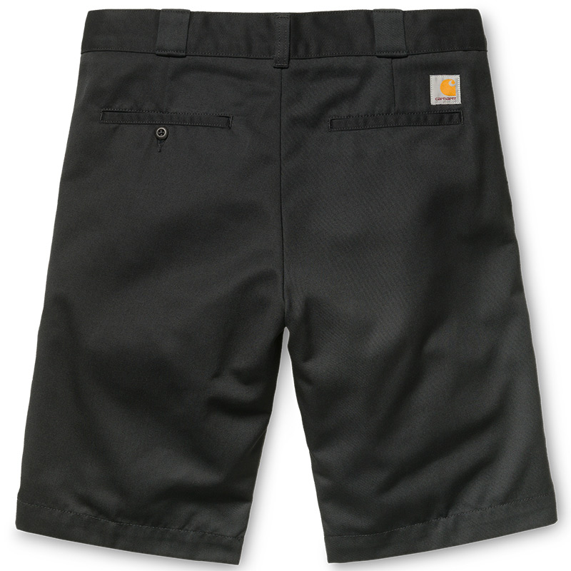 Carhartt WIP Master Shorts Black Rinsed