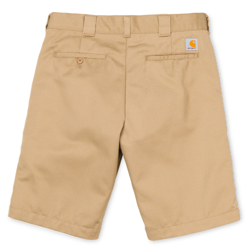 Carhartt WIP Master Shorts Leather Rinsed