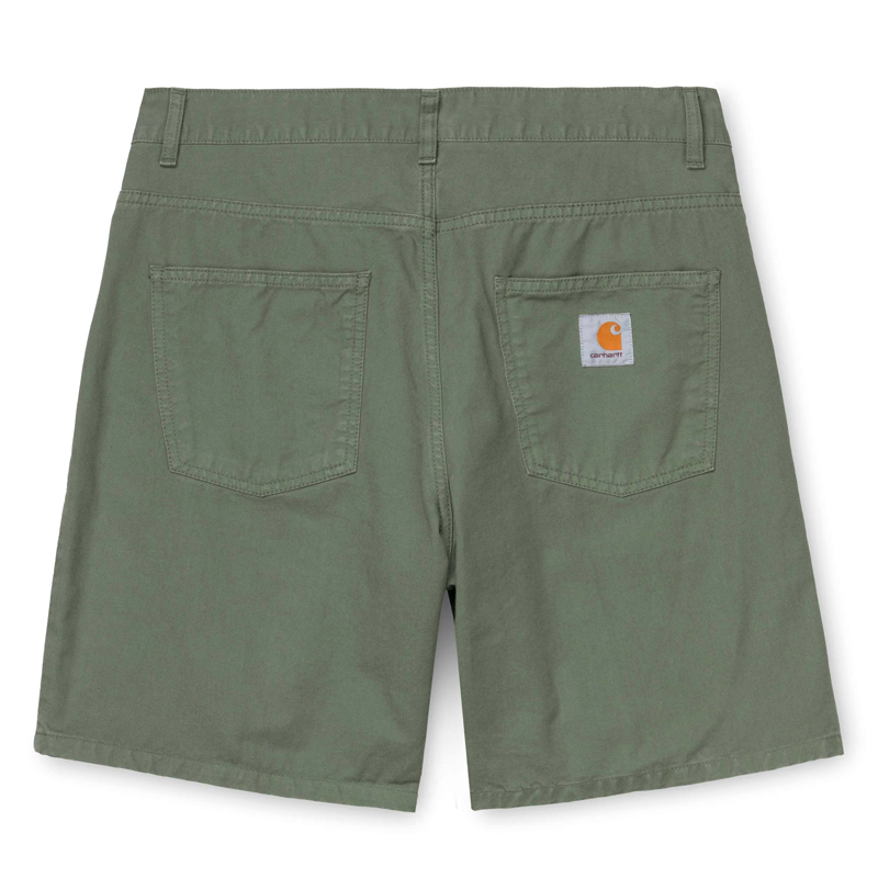 Carhartt WIP Newel Short Dollar Green Garment Dyed