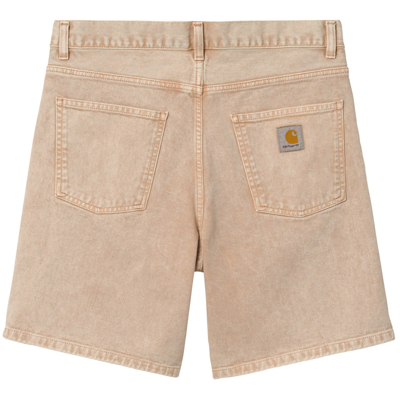 Carhartt WIP Newel Short Dusty H Brown Worn Washed
