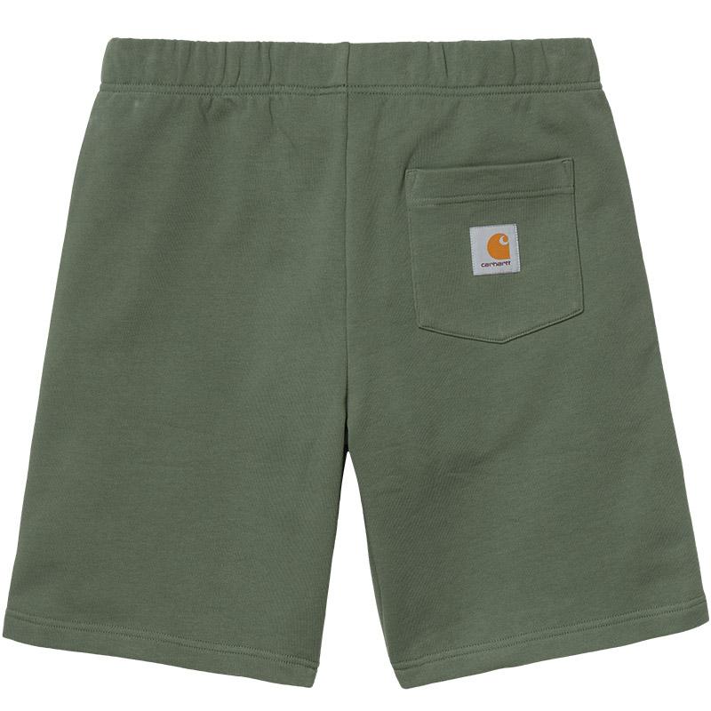 Carhartt WIP Pocket Sweat Shorts Dollar Green