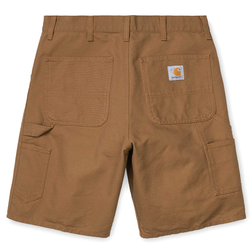 Carhartt WIP Single Knee Short Hamilton Brown Aged Canvas
