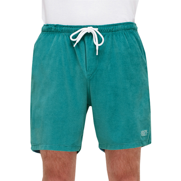 Obey Catalina Shorts Teal