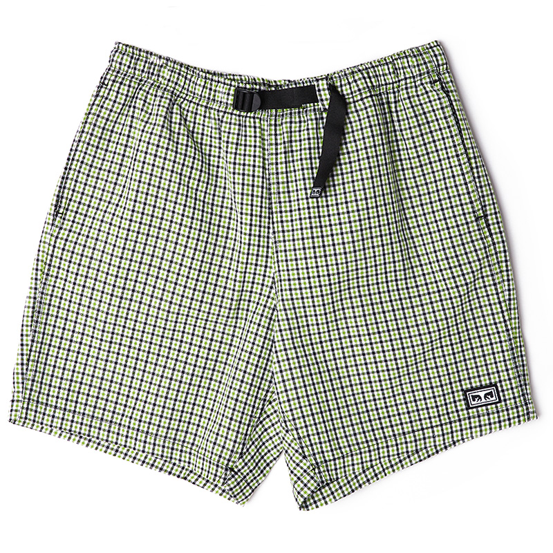 Obey Crimp Trek Short Green Dream
