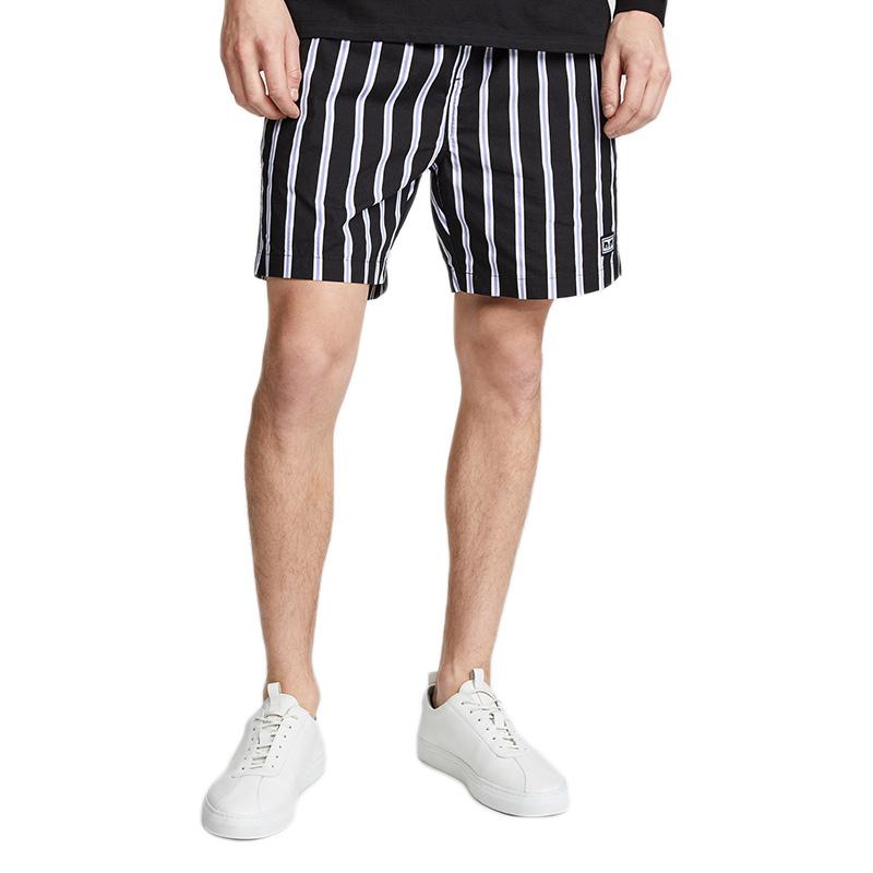 Obey Easy Stripe Shorts Stripe Black Multi