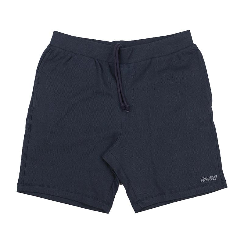 Palace Pique Shorts Navy