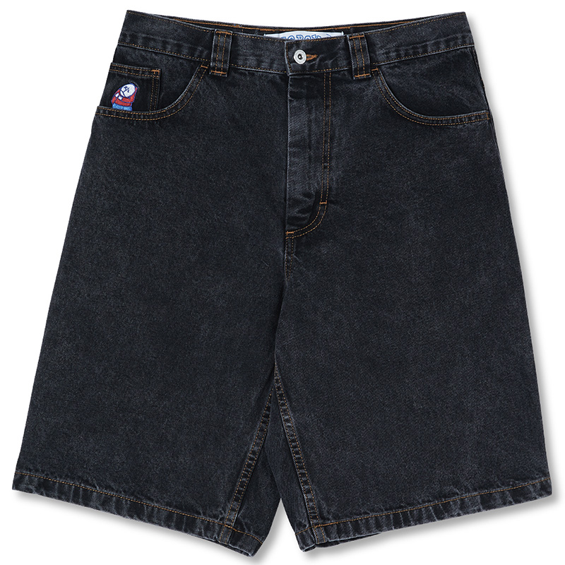 Polar Big Boy Shorts Washed Black