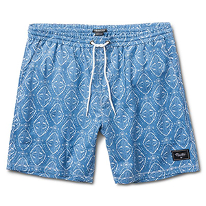Primitive Pool Party Shorts Rain Cloud Heather