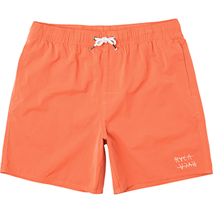 RVCA Horton Elastic Shorts Dirty Orange
