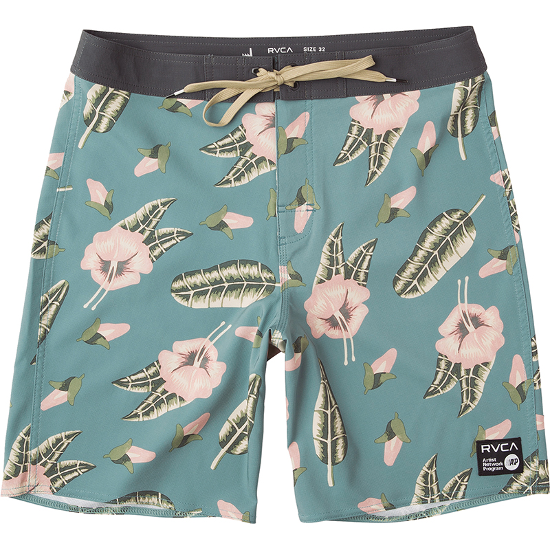 RVCA Va Trunk Shorts Papaya