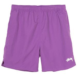 Stussy Stock Water Short Purple
