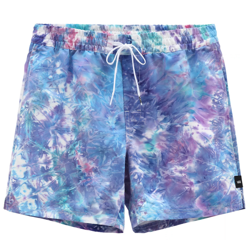 Vans Tie Dye Volley English Short Lavender Tie Dye