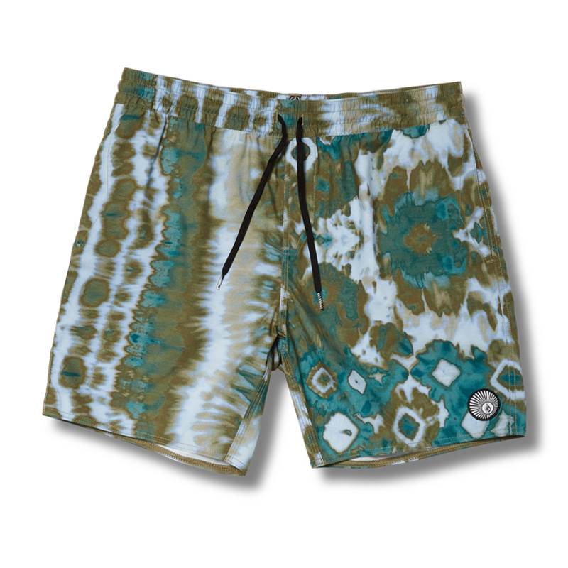 Volcom Earthly Delight Trunks Spruce Green