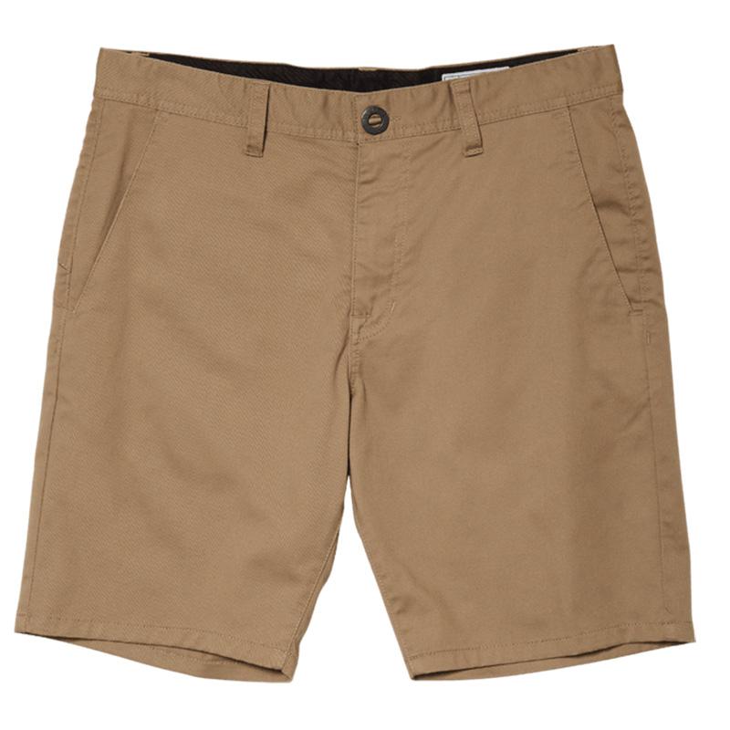 Volcom Frickin Mdrn Stch Shorts Khaki