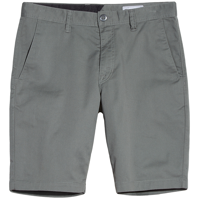 Volcom Frickin Modern Fit Stretch Short Dusty Green