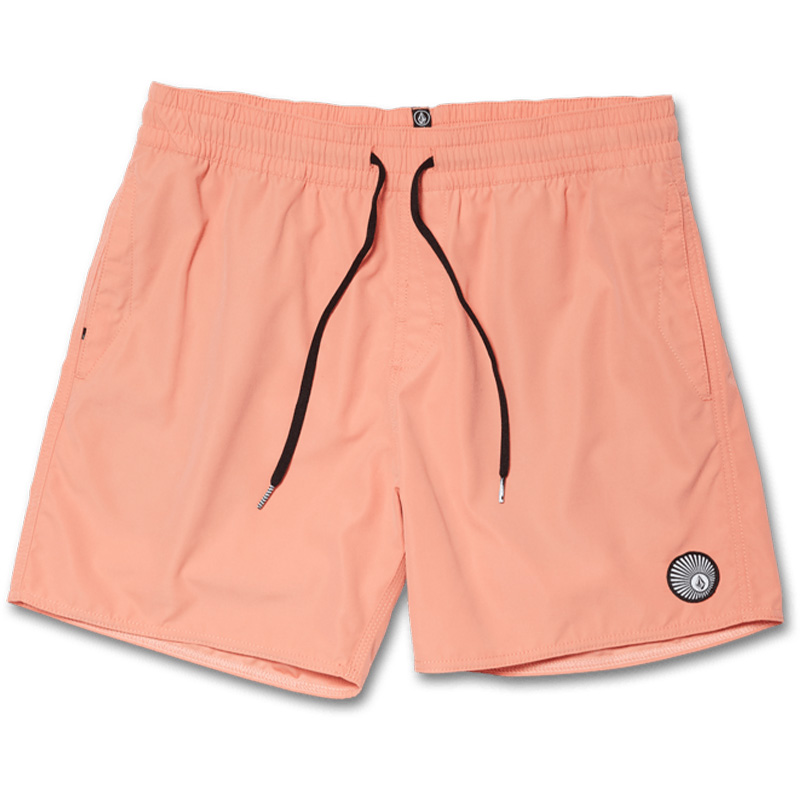 Volcom Lido Solid Trunks Clay Orange