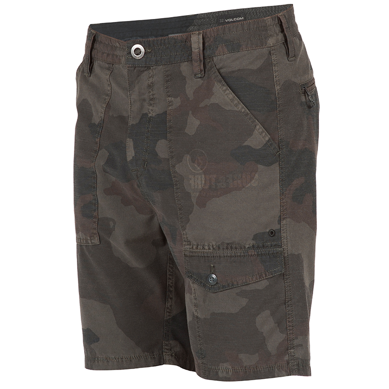 Volcom Snt Creeper 19 Shorts Camouflage