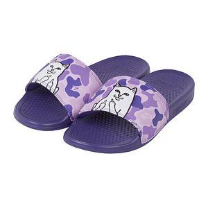 RIPNDIP Lord Nermal Slides Purple Camo