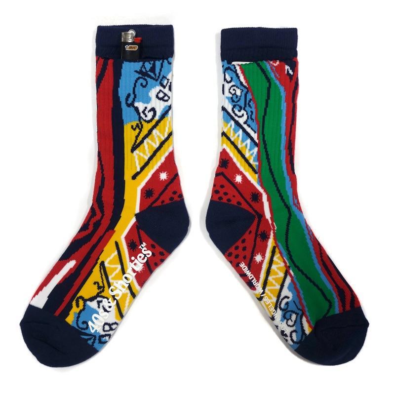 40s & Shorties Big Poppa Socks Multi