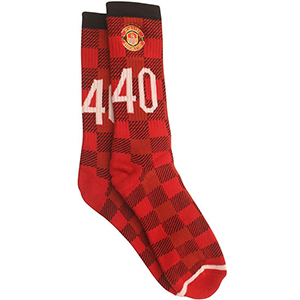 40s & Shorties Man U Socks Red