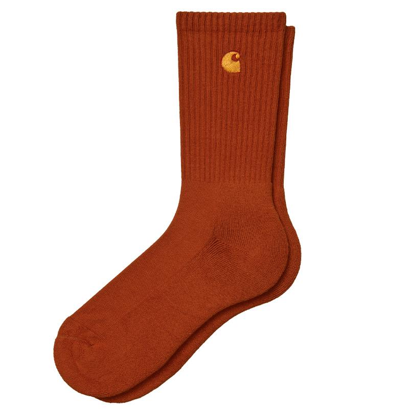 Carhartt WIP Chase Socks Copperton/Gold