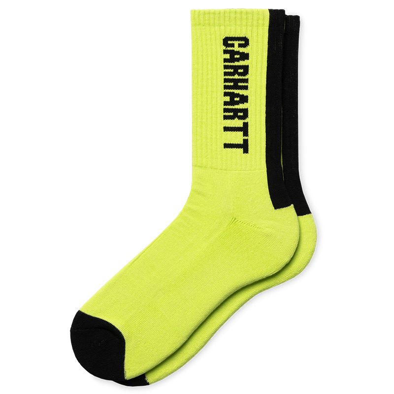 Carhartt WIP Turner Socks Lime/Black