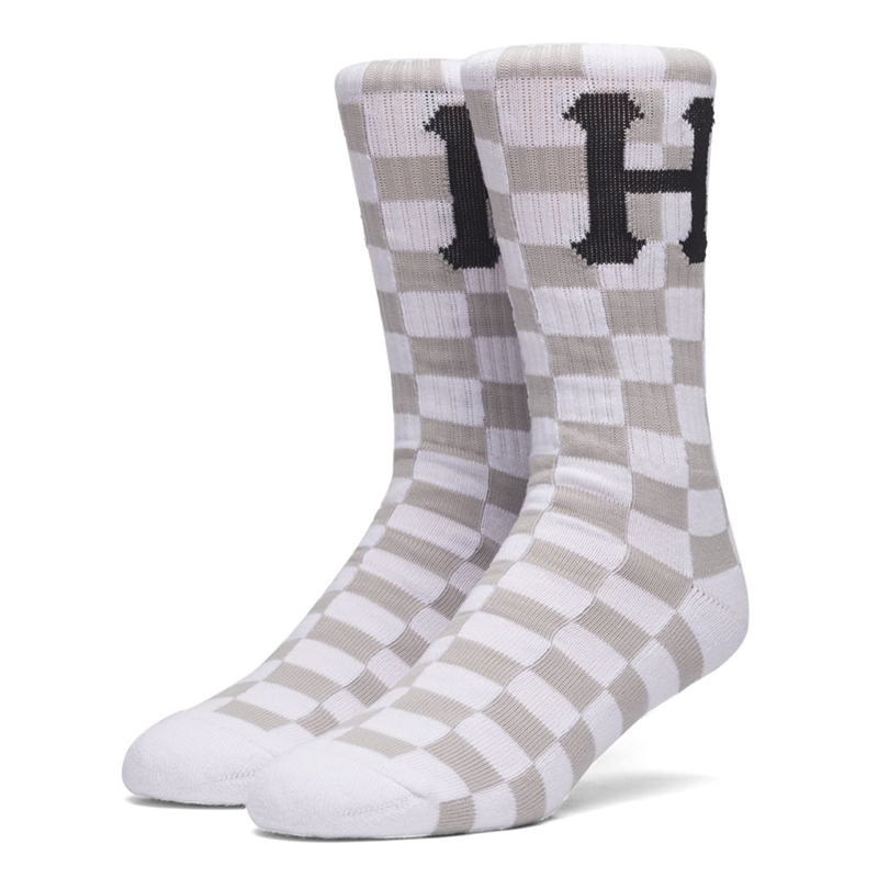HUF Blackout Socks White