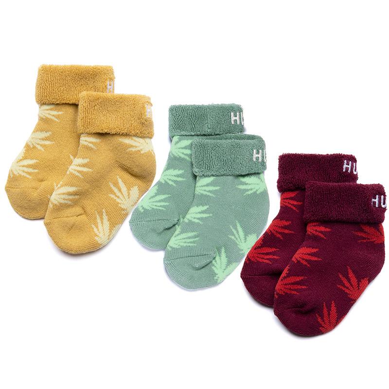 HUF Essentials Baby Seeds Socks Gold