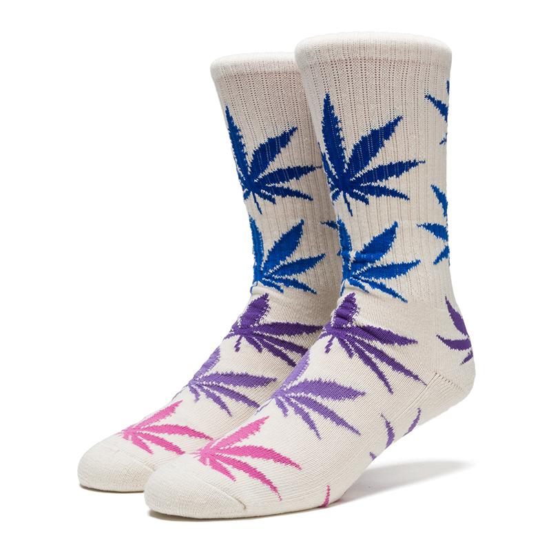 HUF Fader Plantlife Crewneck Socks Dusk