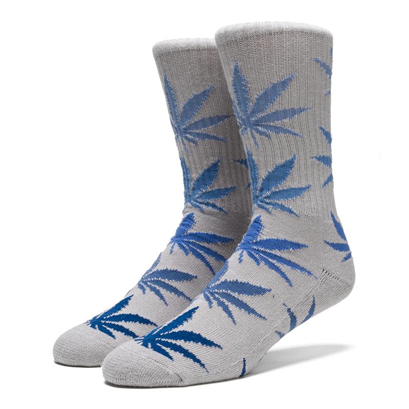 HUF Fader Plantlife Crewneck Socks Navy