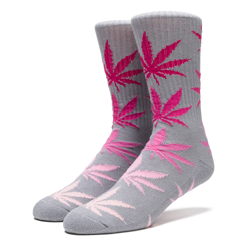 HUF Fader Plantlife Crewneck Socks Pink