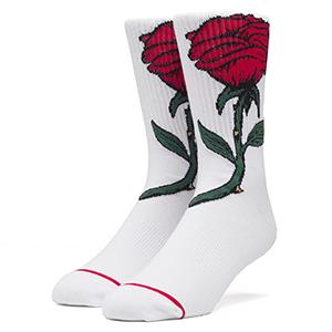 HUF Farewell Socks White