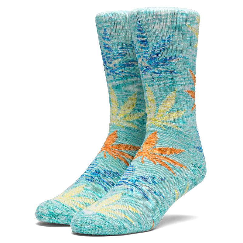 HUF Full Melange Plantlife Socks Mint