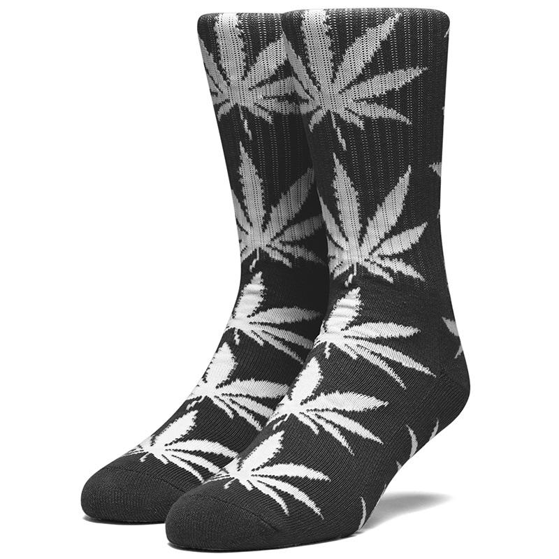 HUF Glow Plantlife Socks Black