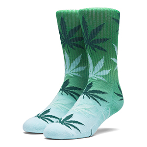 HUF Gradient Plantlife Socks Forest